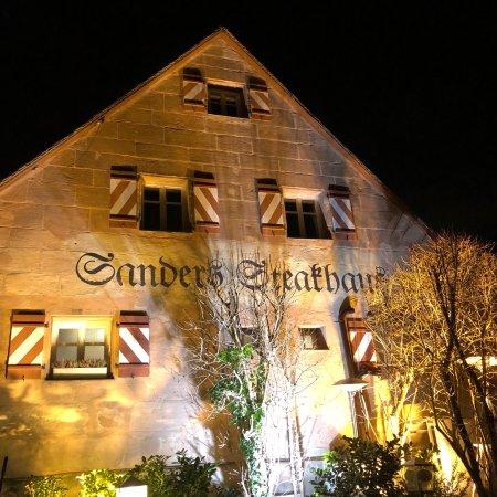 Sanders Nürnberg sanders steakhaus nürnberg omdö om restauranger tripadvisor
