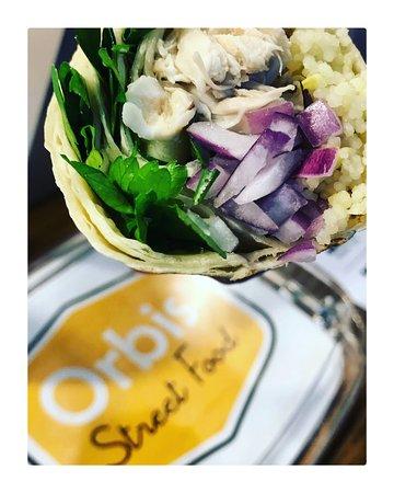 Orbis Street Food: Mediteral roll