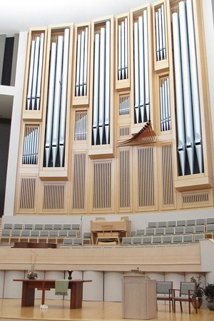 Independence, MO: Organ inside the sanctuary. I'll bet that sounds beautiful!