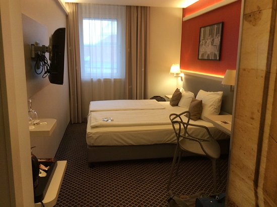 Best Western Hotel Leipzig City Center: Small but adequate