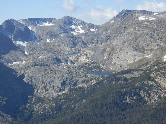 Trail Ridge Road: Een van de vele vergezichten