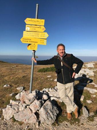 Puchberg am Schneeberg, ออสเตรีย: Half way to the summit