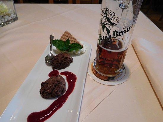 Bad Nenndorf, Alemanha: Ein Dessert zum Schnitzeltag
