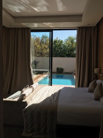 Sirayane Boutique Hotel & Spa: Piscine au pied du lit!