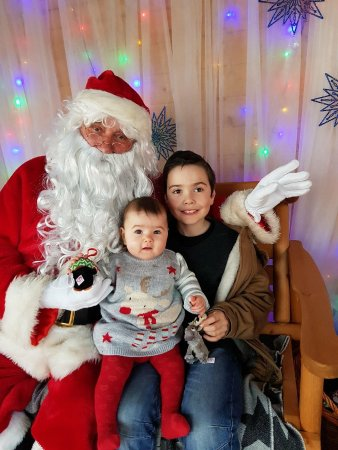 Newtown St Boswells, UK: Good bye from Santa's Grotto...