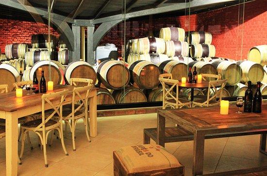 Omaruru, Namibia: Wine Tasting Room