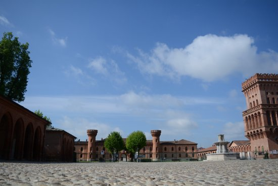 Borgo di Pollenzo: vista