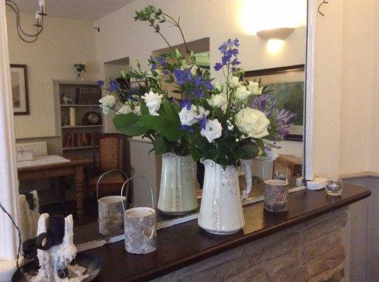 Everdon, UK: dining room