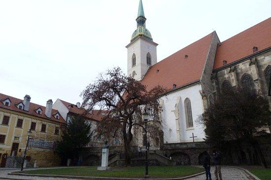 St. Martin's Cathedral (Dom svateho Martina): Vista esterna