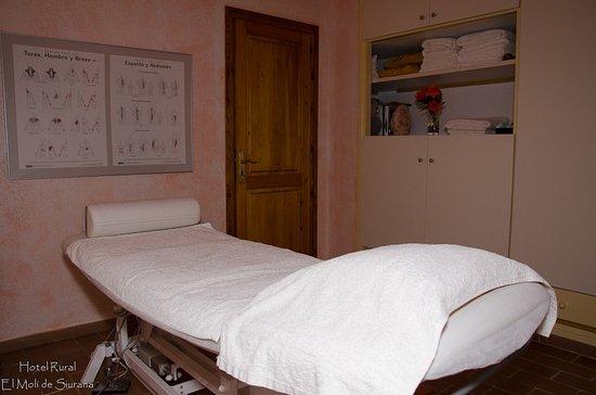 Сиурана, Испания: Sala de masages