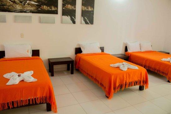 Hotel campo verde puerto triunfo colombia opiniones y for Habitacion familiar medellin
