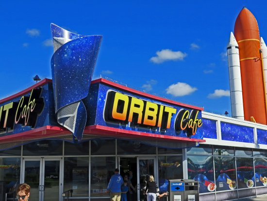 Orbit Cafe Kennedy Space Center Menu
