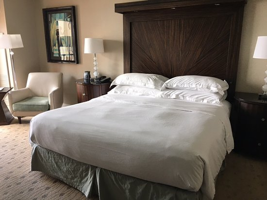 Hilton Dallas / Rockwall Lakefront: Comfortable King Sized Bed