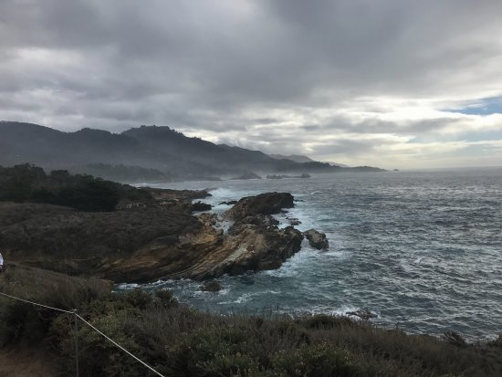 Point Lobos State Reserve: A few minutes after this photo the sun came out