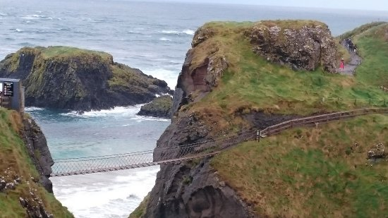 Ballintoy, UK: Carrick-a-Rede.