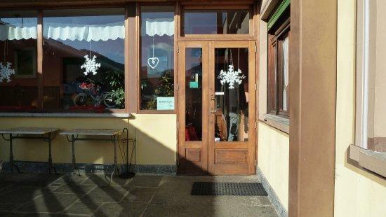 Civiasco, Italie : Ingresso al ristorante