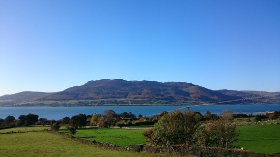 Rostrevor, UK: Beautiful view from the front of the hotel.