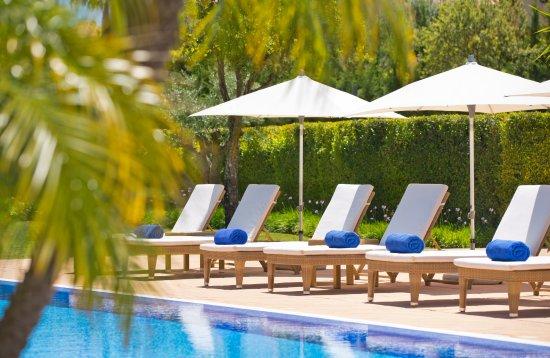 Vila Nova de Cacela, Portugal: Veranda - Piscina / Swimming Pool
