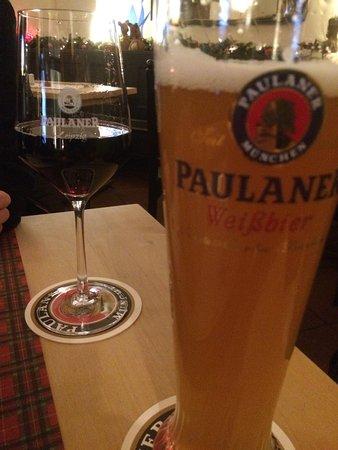 Paulaner Leipzig: cerveja e vinho