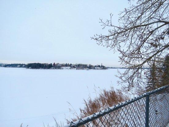 North Glenmore Park : Views of Glenmore Reservoir