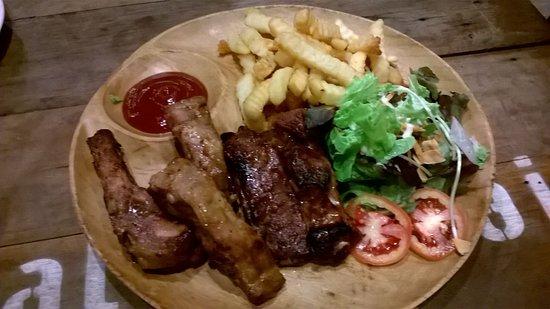 Buffalo Thai Cafe & Bistro : costone durissime