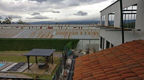 Hotel Luisiana: vue sur le chantier