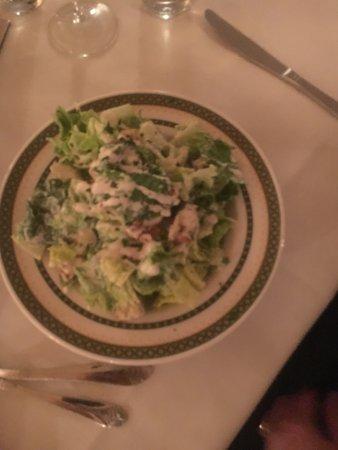 Bethlehem, New Hampshire: Caesar salad