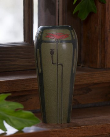 Lake Mills, WI: Lyrical Poppy Vase