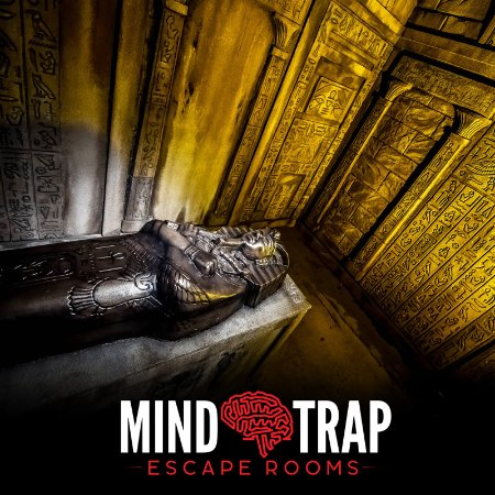 Montgomery, IL: Pharaoh's Chamber Escape Room inside Mind Trap Escape Rooms