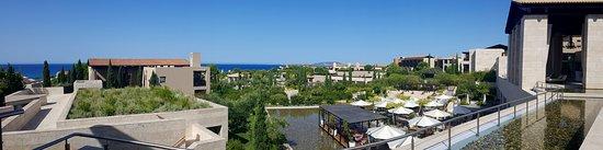 Costa Navarino, Grecia: View from the Bar
