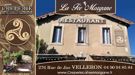 Velleron, França: Pub