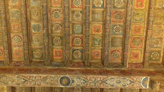 Museo Nazionale Romano - Palazzo Altemps: I SOFFITTI IN LEGNO DIPINTI