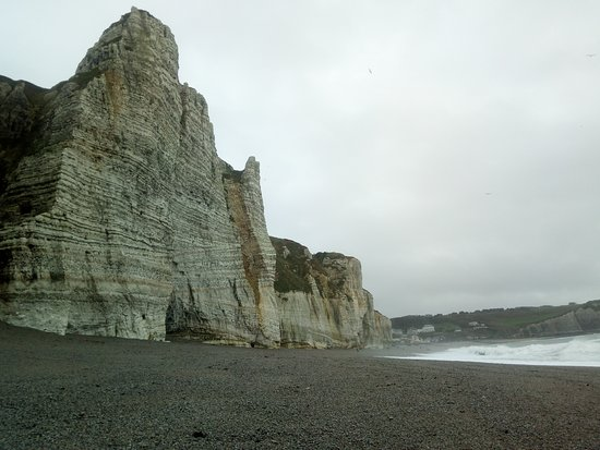 Etretat, France: Near the Plage Les Tilleuls