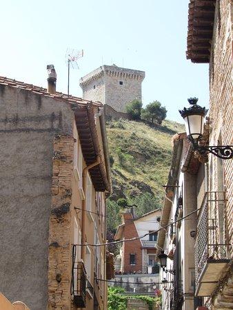 Una de las torres de la muralla en Daroca (Zaragoza).