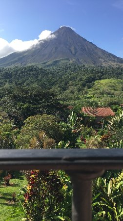 Arenal Kioro Suites & Spa: Clear day in September