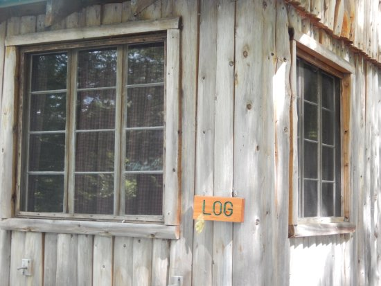 Belgrade, ME: The name of this cabin is LOG