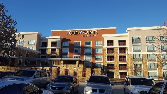 Large Parking Lot And Parking Is Free Picture Of Four Points By