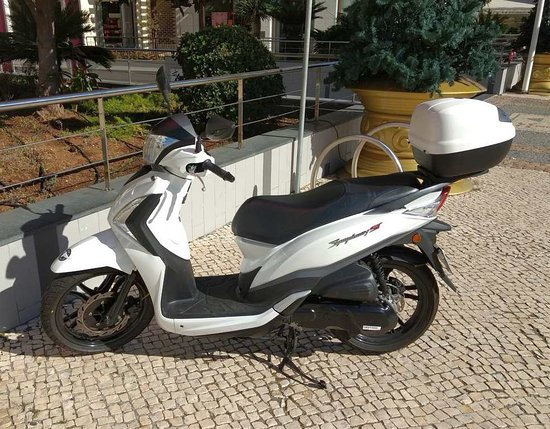 SYM Symphony Scooter 125cc / Funchal, Madeira - Picture of