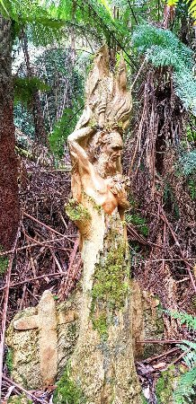 Mount Dandenong, Австралия: William Ricketts Sanctuary