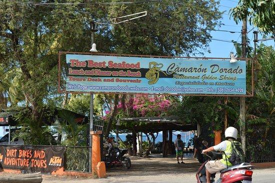 Brasilito, Costa Rica: Entrance to Cameron Dorado