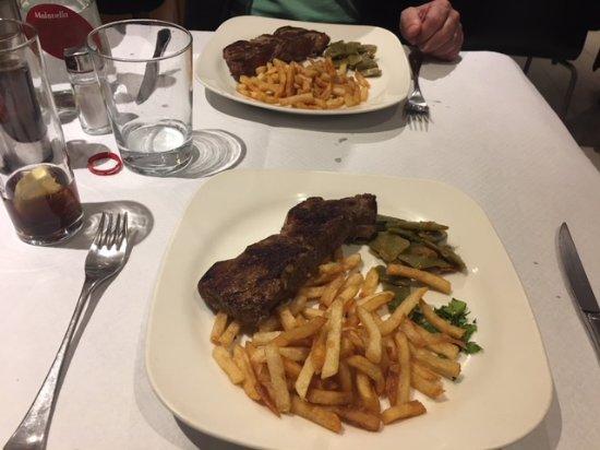 Big Ben Restaurant: steak