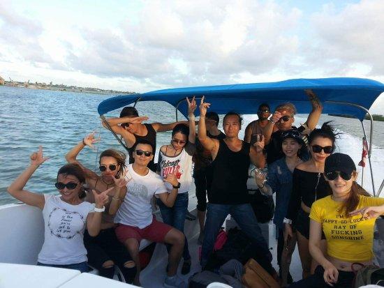 Ladyville, Belize: Nautilus Express Water Taxi