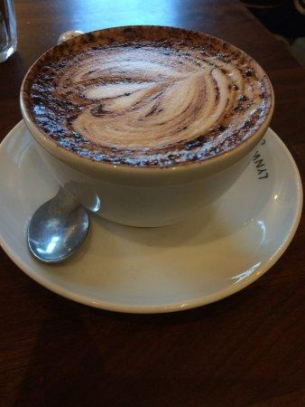 Fairford, UK: Coffee