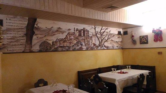 San Vito Romano, Italy: Parte della sala