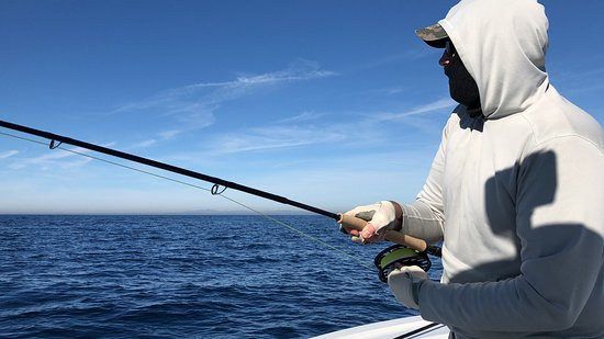 This fishing is up close and personal kuva on the fly for Fly fishing san diego