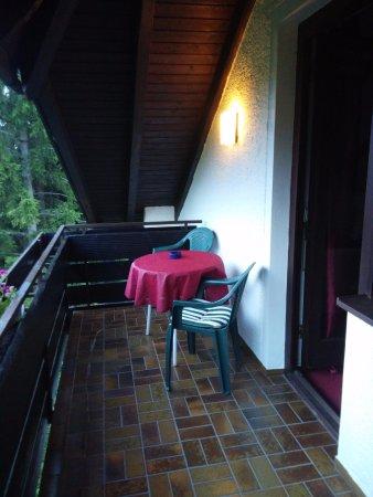 Hotel Hohenried: Balcony