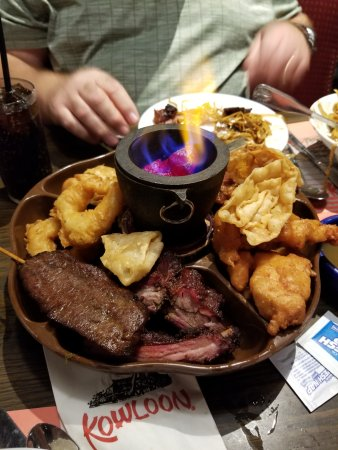 Saugus, MA: pu pu platter for three :)