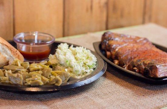Killen, AL: Half slab rib plate