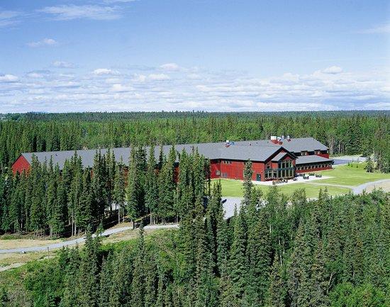 Copper Center, AK: Aerial view of Copper River Princess Wilderness Lodge
