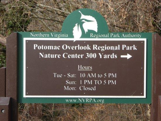 Potomac Overlook Regional Park Nature Center